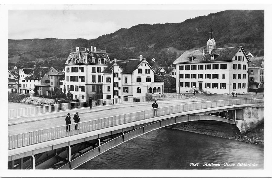 1927, neue Brücke Adliswil