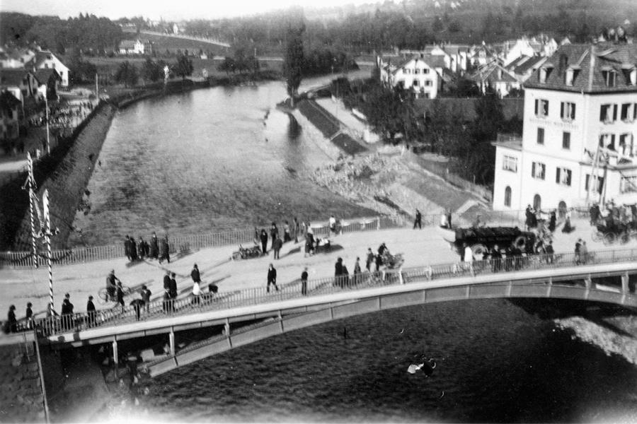 1927, Brückeneinweihung, Adliswil